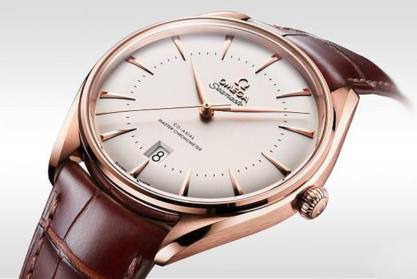 欧米茄海马威尼斯金材质版手表