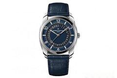 江斯丹顿新款蓝面精钢手表北京哪里能回收