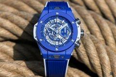 宇舶Big Bang Blue蔚蓝手表在北京哪里能回收