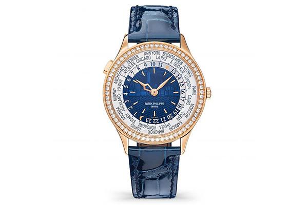 百达翡丽Ref. 7130世界时区玫瑰金款手表回收