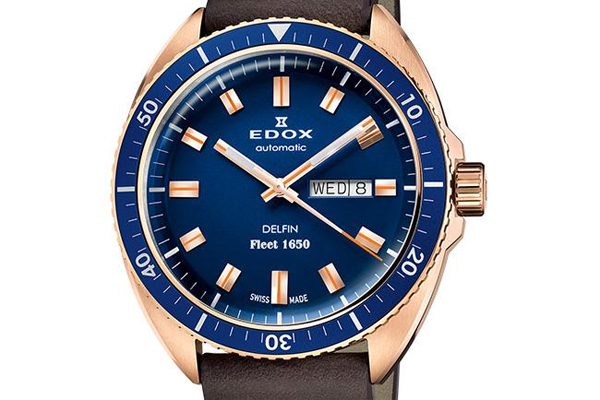 EDOX Delfin Fleet 1650限量纪念腕表