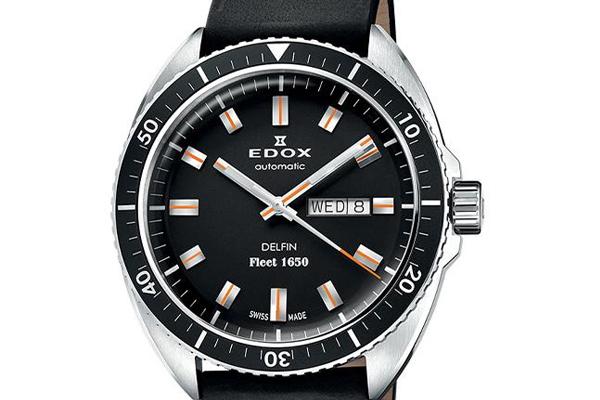 EDOX Delfin Fleet 1650限量纪念腕表(不锈钢款)