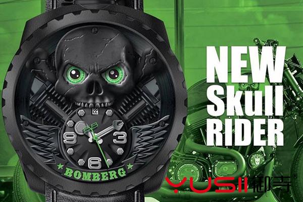 BOLT-68 Skull Rider Blackheart腕表