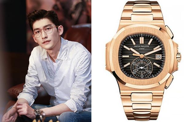 张翰佩戴的百达翡丽手表北京回收价格多少