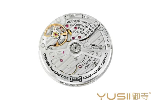 萧邦L.U.C Perpetual T手表L.U.C 02.15-L机芯