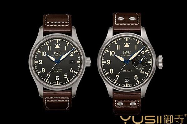 万国新款飞行员Heritage复刻手表回收