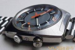 70年代欧米茄单发条闹铃手表