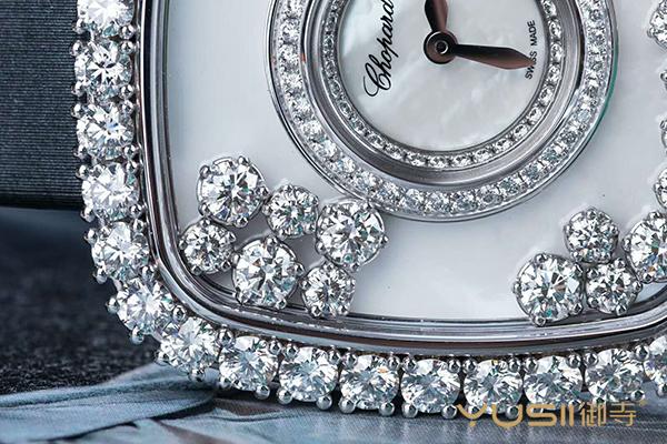 待售二手萧邦HAPPY DIAMONDS系列204368-1001限量手表