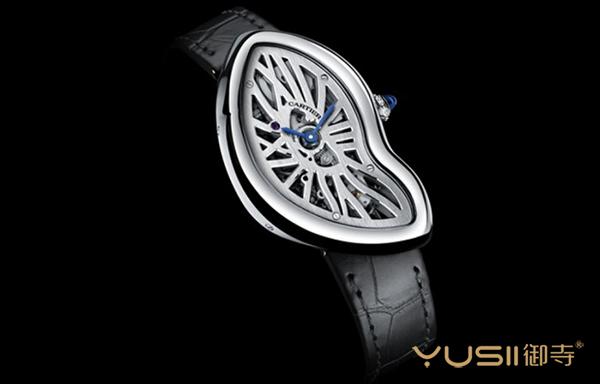 这样的手表真是用来看时间的吗?卡地亚CRASH楼空手表