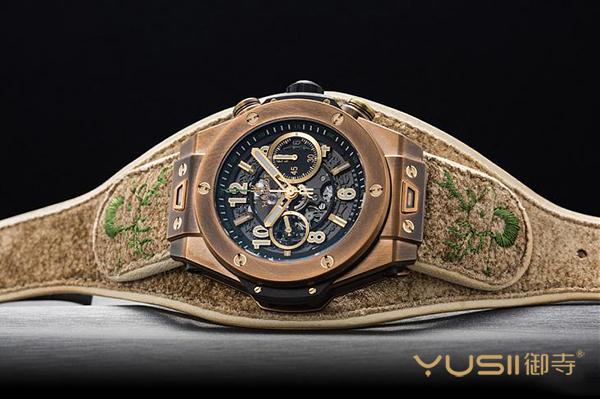 连表带也很有戏 宇舶新款Big Bang巴伐利亚青铜手表