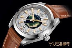 欧米茄首款世界时区手表