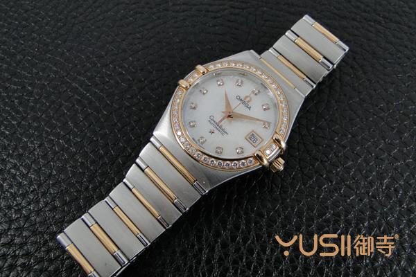 欧米茄星座系列女士手表回收