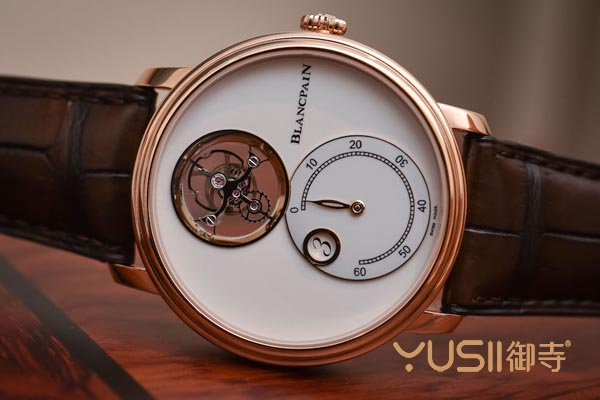 宝珀新款陀飞轮手表回收