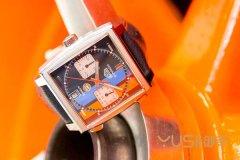 泰格豪雅新款摩纳哥特别版手表!