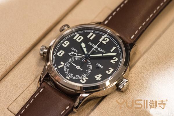 百达翡丽新款钛壳手表