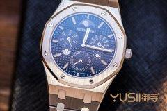 爱彼皇家橡树世界最薄万年历手表!