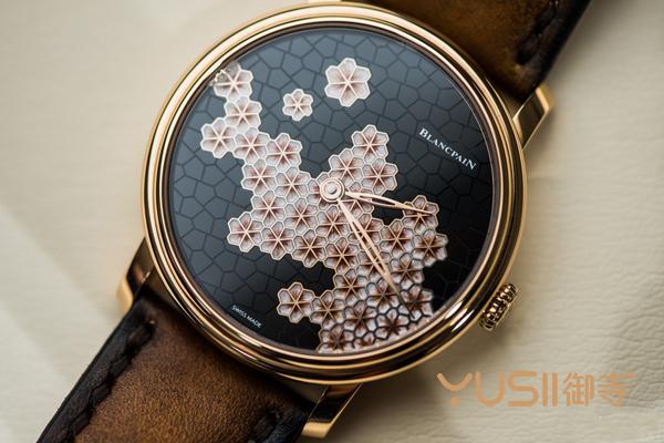 宝珀Villeret经典系列特殊工艺手表