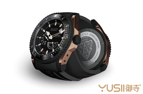 古驰男士潜水腕表,古驰腕表在御寺手表回收店什么价格?