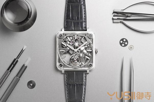 赏析下柏莱士的新款BR-X2微型自动盘镂空陀飞轮手表,御寺