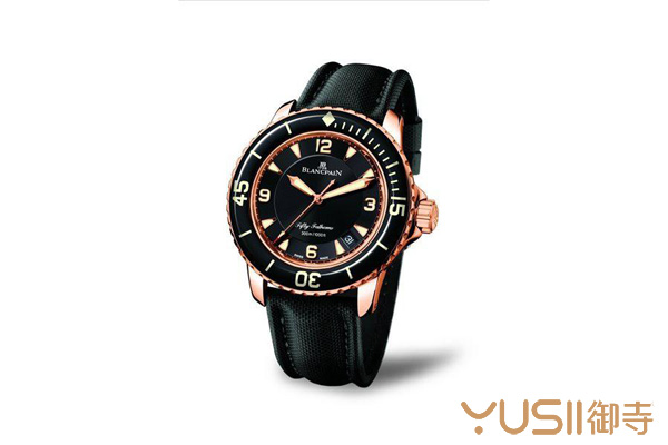 宝珀潜水腕表五十噚,潜水腕表在手表回收店什么价格?御寺