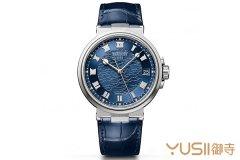 宝玑入门款新选择 Marine系列5517大三针日期手表
