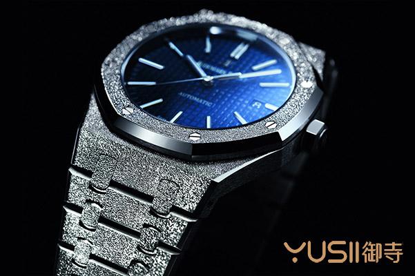 哪里可以购买到二手爱彼皇家橡树系列蓝面霜金手表?找御寺就对了