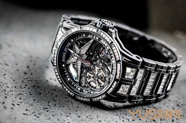 罗杰杜彼最新Excalibur Spider Ultimate Carbon碳纤维限量手表,购买回收皆不易
