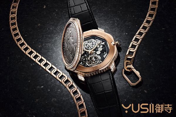 加入古钱币手表回收价值有更高吗?宝格丽Octo Finissimo Tourbillon古币表回收