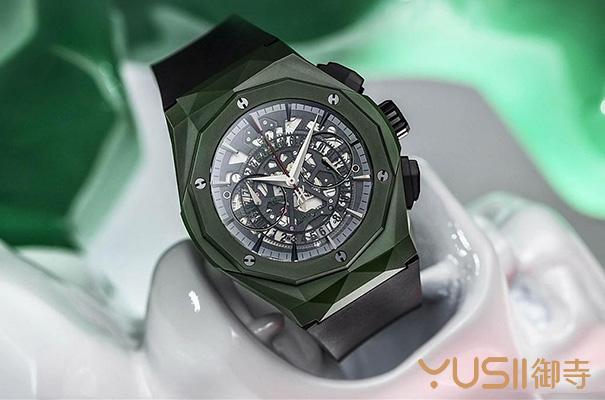 宇舶新款绿陶瓷限量手表能延续劳力士新品回收奇迹吗