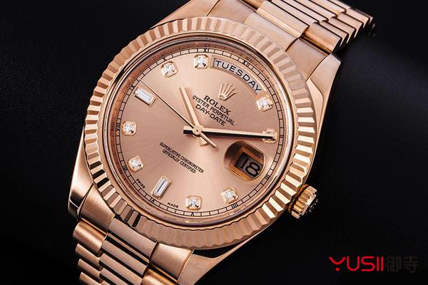 北京哪里回收手表?劳力士手表回收价格怎么算的?御寺,劳力士星期日历型218235