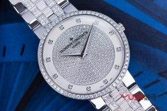 江诗丹顿三针一线陀飞轮珠宝腕表,天津回收珠