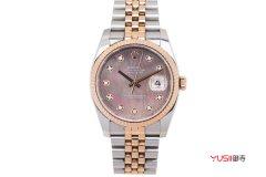 哪里有旧手表回收价格及图片?劳力士女装日志型179313手表可以回收吗
