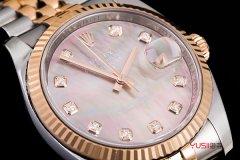 卢湾区哪里高价回收二手劳力士日志型系列m126333手表?价格到底有多高