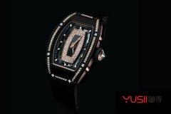 上海哪里能高价上门回收理查德米尔黑色陶瓷镶钻手表?
