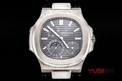 百达翡丽鹦鹉螺5712G-001手表简介,配戴着他去找诗和远方